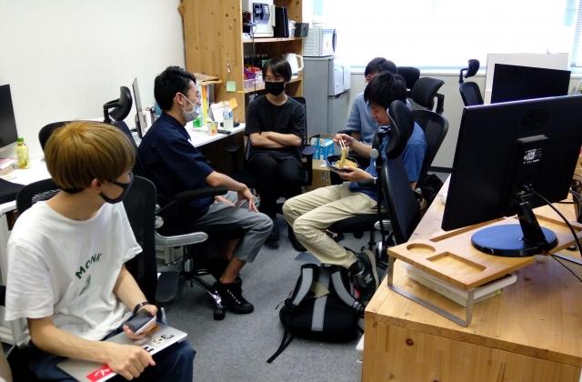 インターン大集合!CCC U-22参加のための企画会議&新メンバーの職場体験会